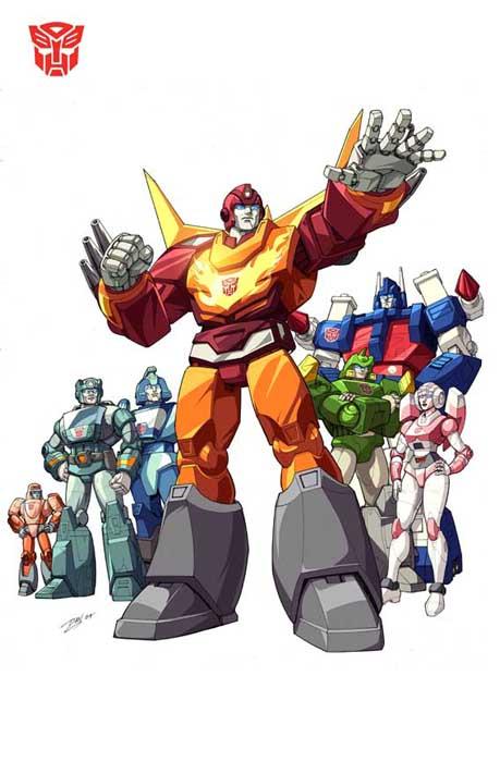 transformers movie autobots group shot